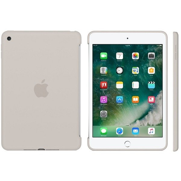 6c9eaa358a6708 Apple iPad mini 4 etui Silicone Case MKLP2ZM/A - piaskowy | Pokrowce ...