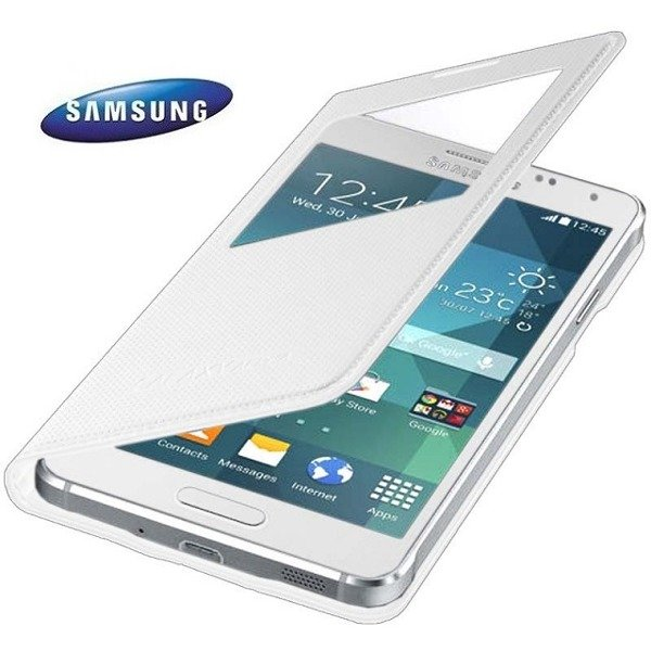 quality design 76c9e 8c931 Samsung Galaxy Alpha etui S View Cover EF-CG850BW - biały