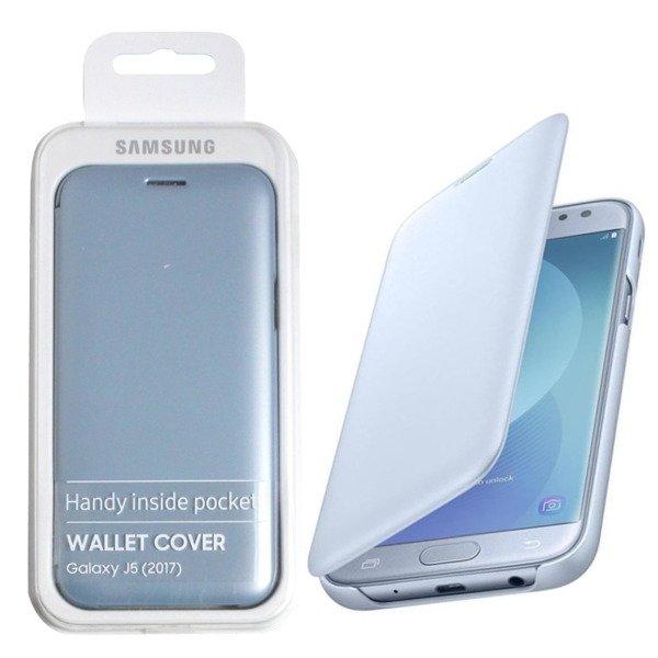 pretty nice db568 86288 Samsung Galaxy J5 2017 etui Wallet Cover EF-WJ530CLEGWW - niebieskie