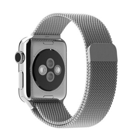 Apple Watch 38 mm bransoleta Milanese Loop MJ5E2ZM/A - srebrna