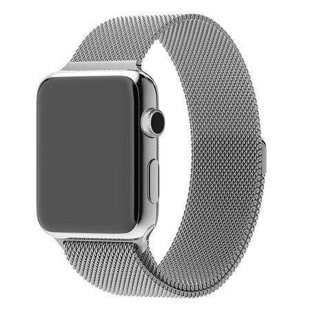 Apple Watch 42 mm bransoleta Milanese Loop MJ5F2ZM/A - srebrna