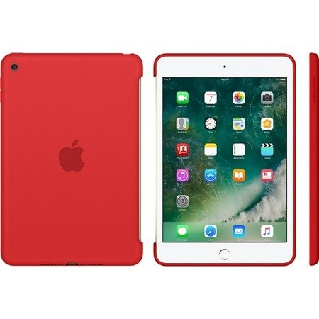 Apple iPad mini 4 etui Silicone Case MKLN2ZM/A - czerwony