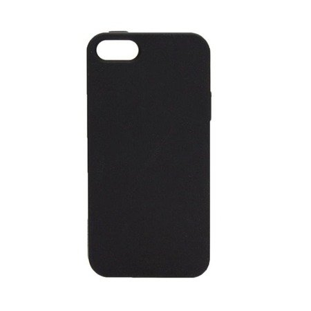 Apple iPhone 5/ 5s/ SE etui silikonowe Xqisit SoftGrip Case - czarne