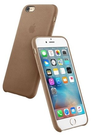 Apple iPhone 6 Plus/ 6s Plus etui skórzane MKX92ZM/A - brązowe