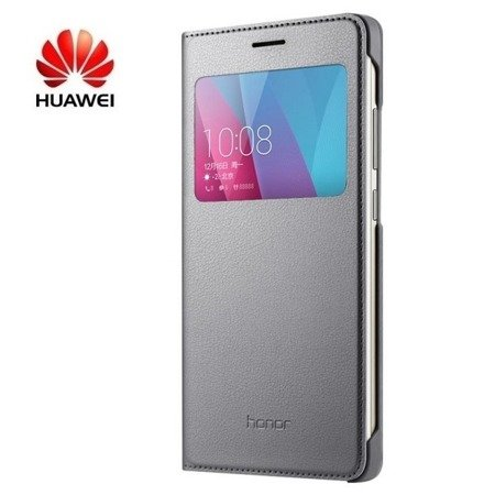 Huawei Honor 5X etui S View Cover - szary