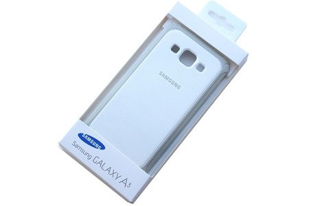 Samsung Galaxy A3 etui Protective Cover EF-PA300BS - biały