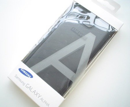 Samsung Galaxy Alpha etui Protective Cover EF-PG850BS - grafitowy