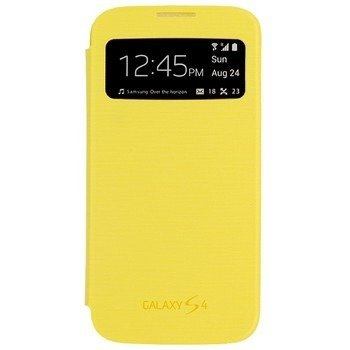 Samsung Galaxy S4 etui S-View Cover EF-CI950BY - żółty