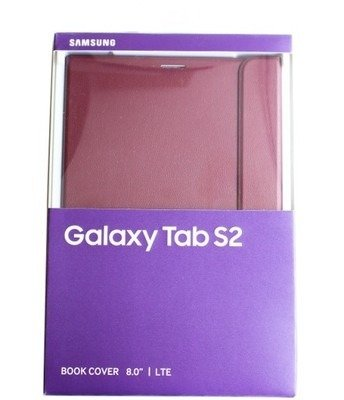 Samsung Galaxy Tab S2 8.0 LTE etui Book Cover EF-BT715PR - bordowe